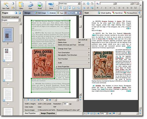 Textual Conversion via OCR