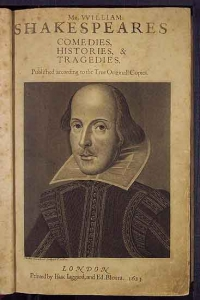 1st Edition - Shakespeare's Comedies, Histories & Tragedies