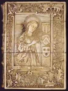 15th Century Ivory Cover